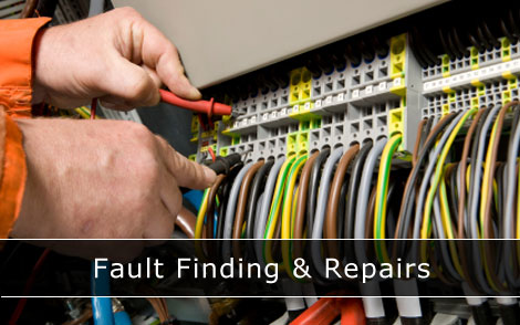 Fault finding and repairs