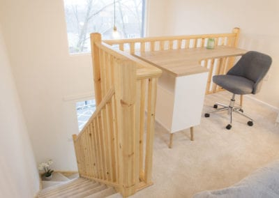 Hope Rise - bedroom with workspace
