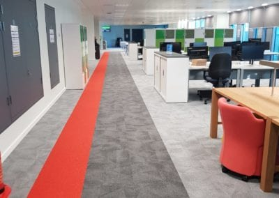 Sussex Office - Entry to Workspace